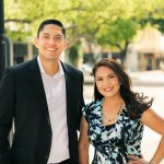 Realtor and Broker Alex Gonzalez and his wife Itzel Gonzalez