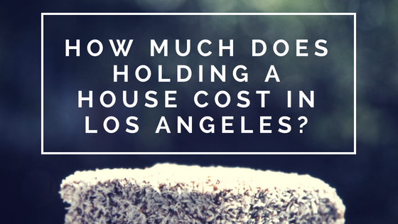 Holding a House Cost