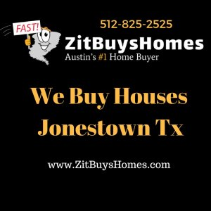 we buy houses jonestown tx