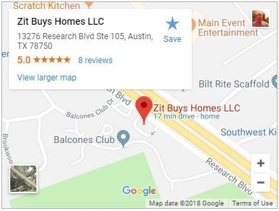 Zit Buys Homes LLC 13276 Research Blvd Ste 105 Austin, TX 78750 512-825-2525