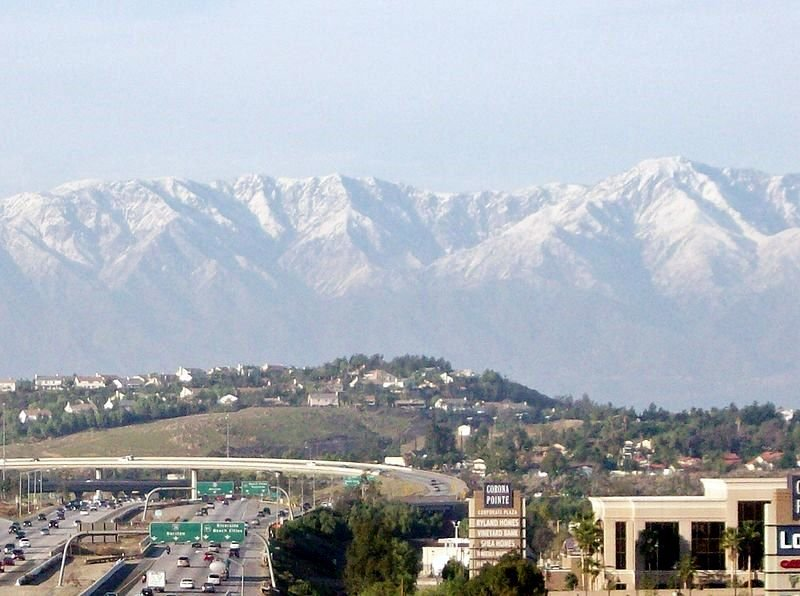 A view of Corona CA - on the sell your house fast in Corona page