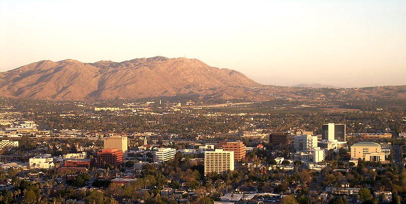 A skyline of Riverview CA, on the sell your house fast in Riverside CA - we buy houses in Riverside page