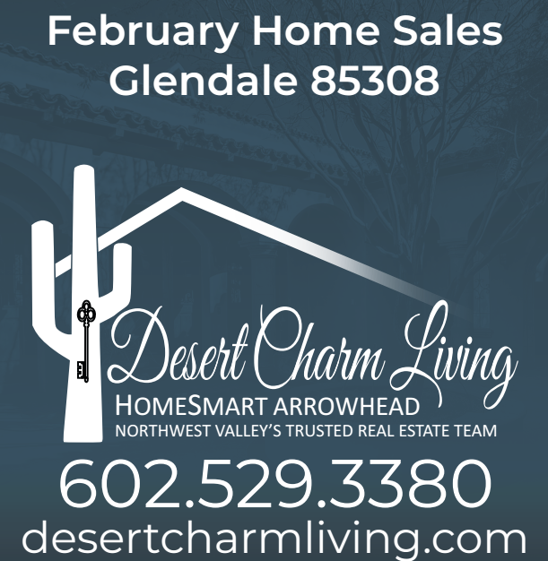 Glendale 85308 Home Sales February 2019