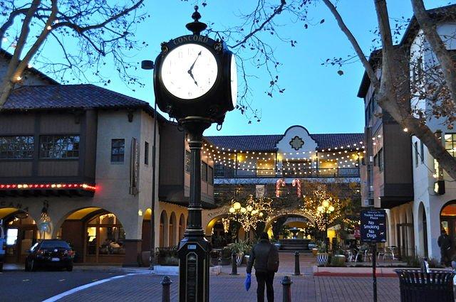downtown in Concord California