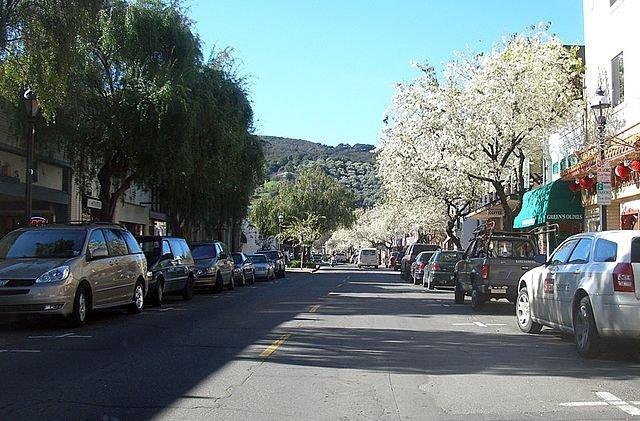 downtown in Martinez California