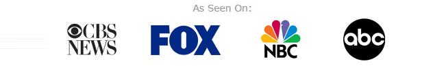 as seen on cbs news, fox news, nbc news, abc news