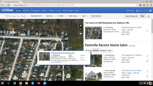 Using Zillow to Determine the Value of Real Estate