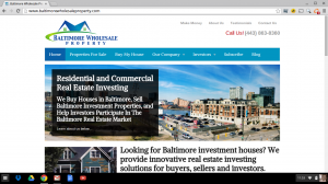 The Best Real Estate Website Templates Baltimore Wholesale Property - Real estate wholesale website templates