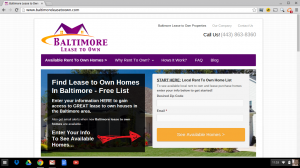 Baltimore Lease to Own