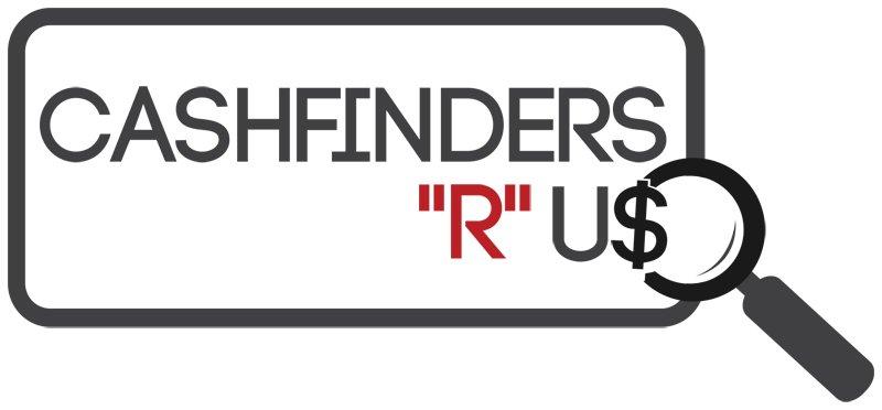 """Cashfinders """"R"""" Us logo"""