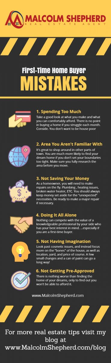 Infographic First Time Home Buyer Mistakes