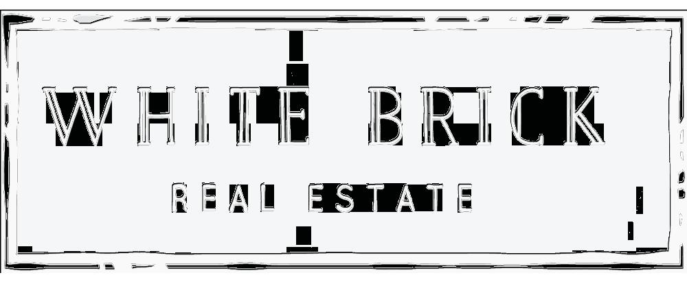 WHITE BRICK- Real Estate logo