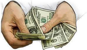 cash - hands
