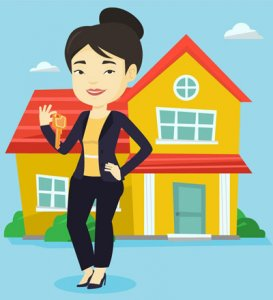 How to Find a Rock Star Houston Real Estate Agent - agent with keys