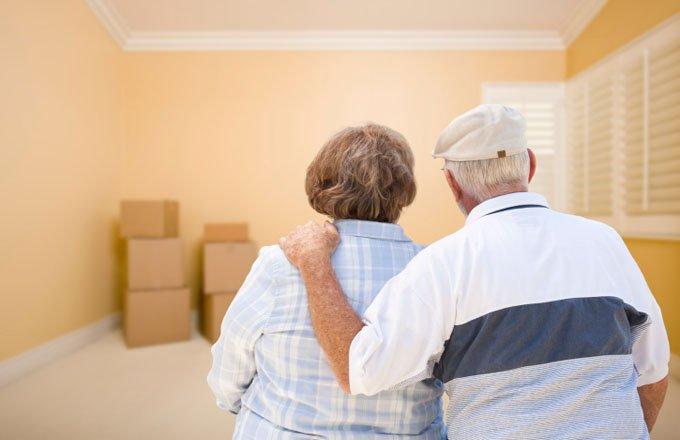 Selling house retiring downsizing