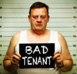 bad tenants in california
