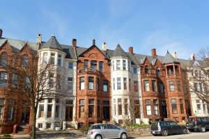 Residential houses in Baltimore