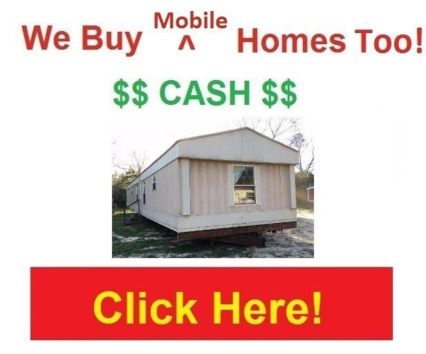 We Buy Mobile Homes Too!