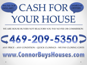 SELL MY HOUSE FAST HALTOM CITY - WE BUY HOUSES HALTOM CITY