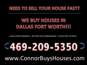 SELL MY HOUSE FAST GRAND PRAIRIE - WE BUY HOUSES GRAND PRAIRIE