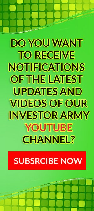 INVESTOR ARMY YOUTUBE CHANNEL