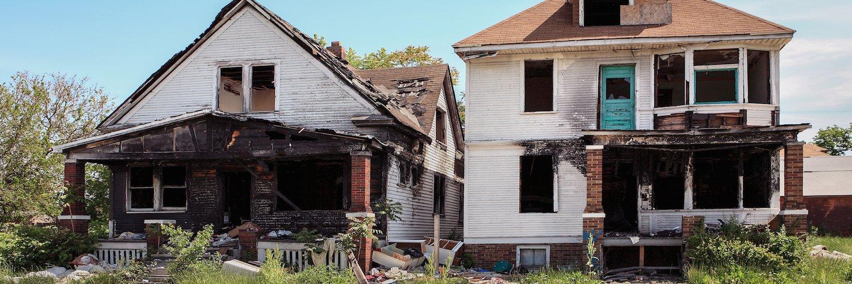 Sacramento Fire Damaged House