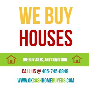 We Buy Houses in Edmond - Oklahoma