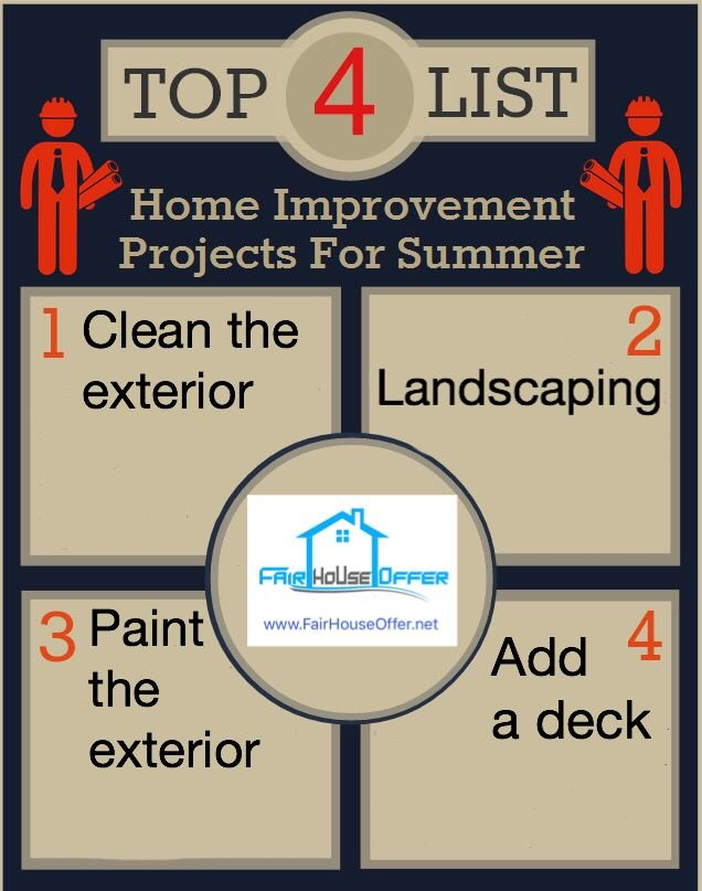 4 Summer Improvements for Los Angeles Real Estate - We Buy Houses