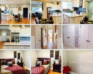 bungalow in peachcrest - livingroom, kitchen & masters bed