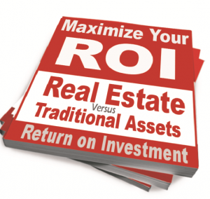 See how investing in stock compares to real estate in this-book
