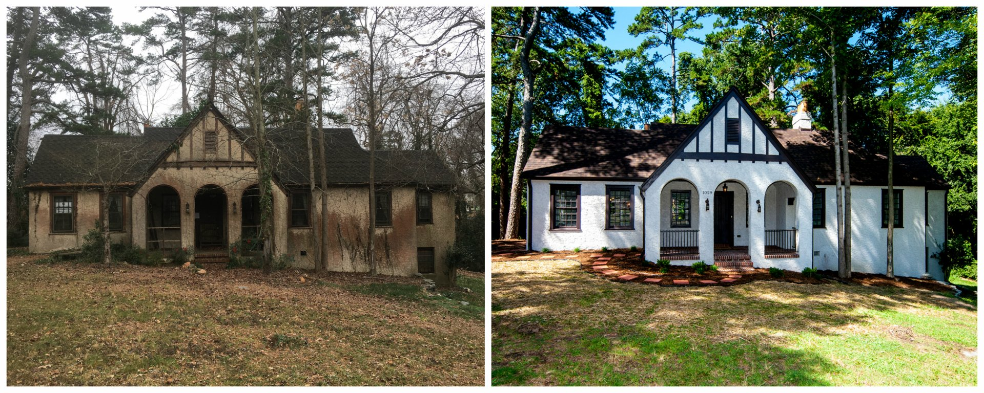 We Buy Ugly Houses   Before And After Of An Ugly House