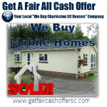 We Buy Charleston Mobile Homes