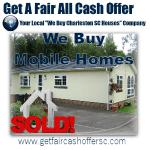 We Buy Charleston Mobile Homes