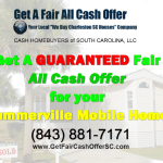 Sell Summerville Mobile Home Cash