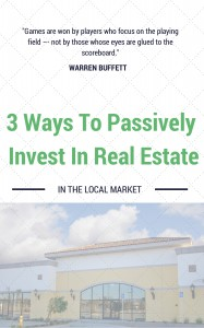 passive real estate investing locally NY