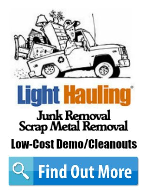 light hauling display ad