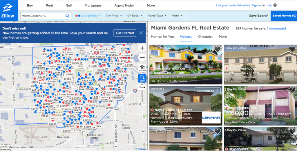 zillow miami home sales