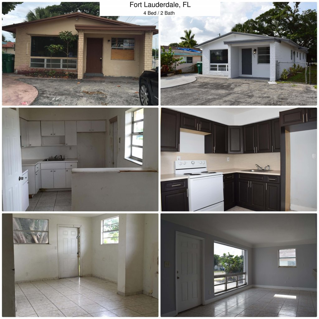 Homes we bought for cash in Ft. Lauderdale Area
