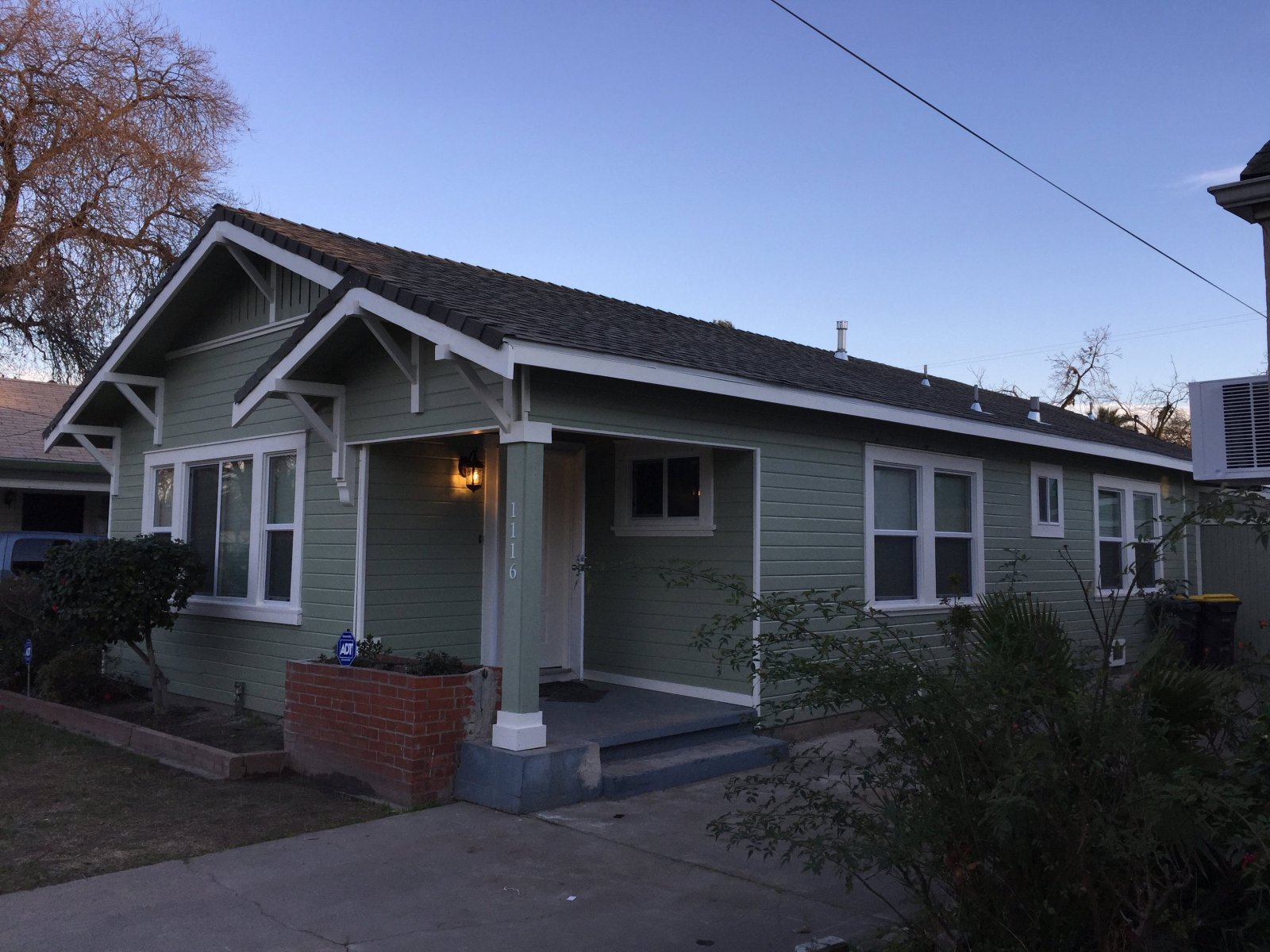 1116 W Park St Stockton Right Front View After