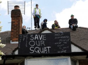 what to do about squatters