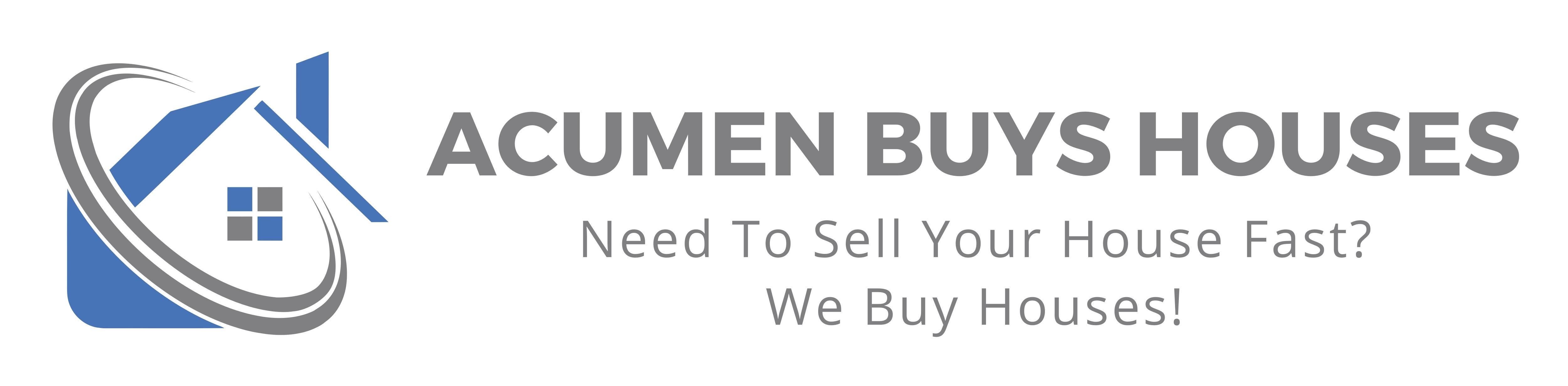 ACUMEN BUYS HOUSES
