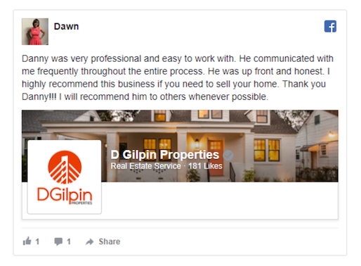 d gilpin properties review charleston