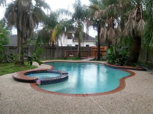 rent to own Tomball, TX Beauty pool area