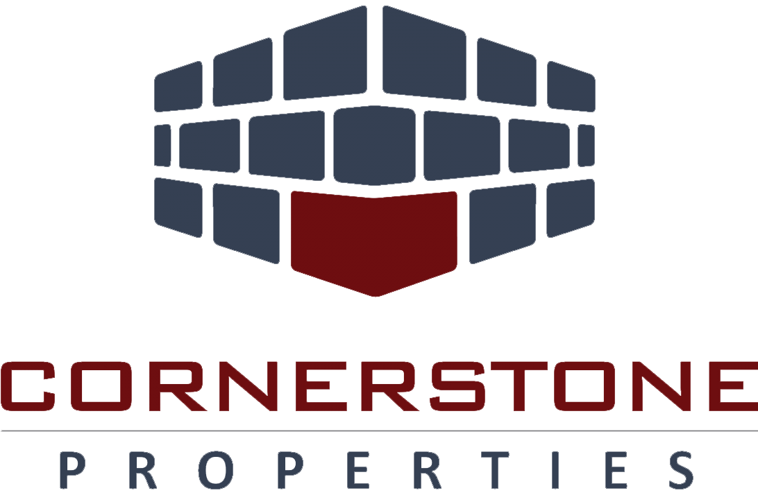 We Help You Buy or Sell – Cornerstone Properties logo