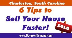 Charleston House Selling Tips