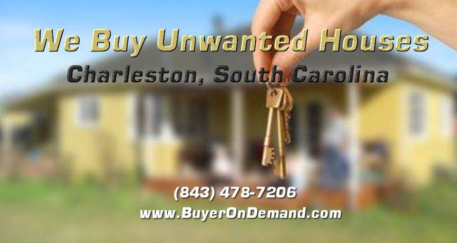 We Buy Unwanted Houses in Charleston South Carolina