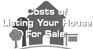 Costs of Listing Your House For Sale in Charleston SC