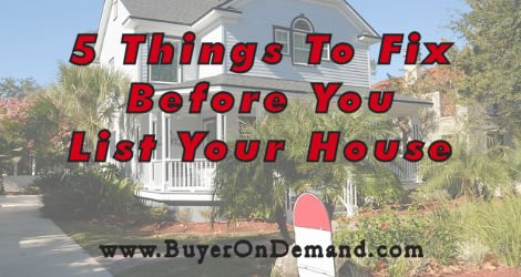 5 Things To Fix Before You List Your House in Charleston