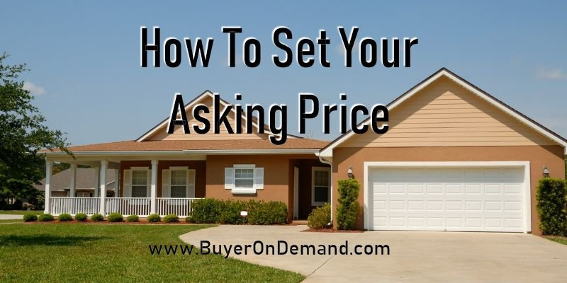 How To Set Your Asking Price