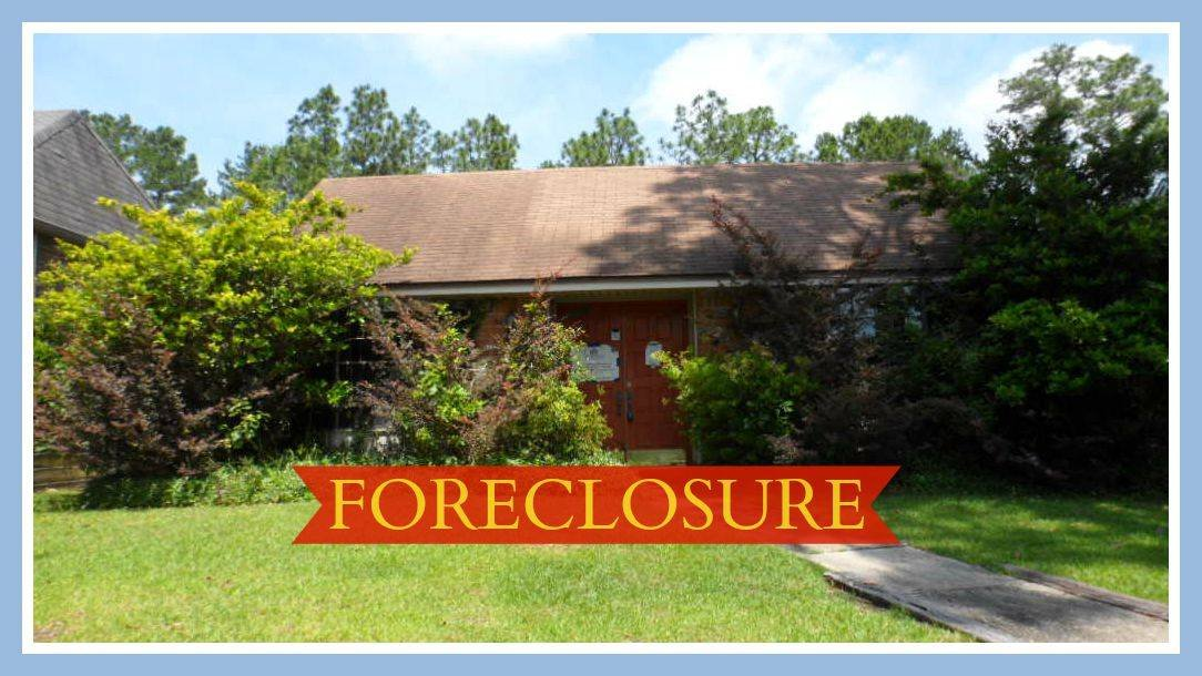 Foreclosed home in Houston Texas